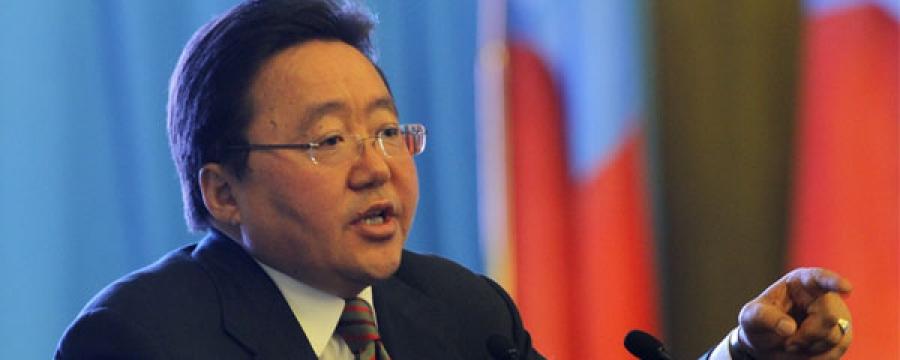 Монгол Улсын Ерөнхийлөгч Цахиагийн ЭЛБЭГДОРЖ:''МИНИЙ АРД ТҮМЭН ЧАДНАА''