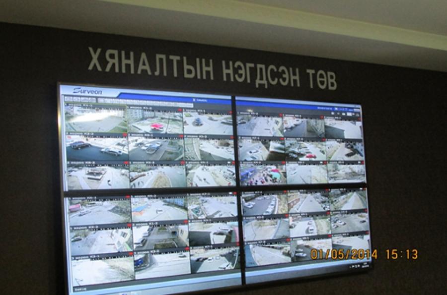 Сүхбаатар дүүргийн 74 цэгт хяналтын камерын системийг суурилуулжээ
