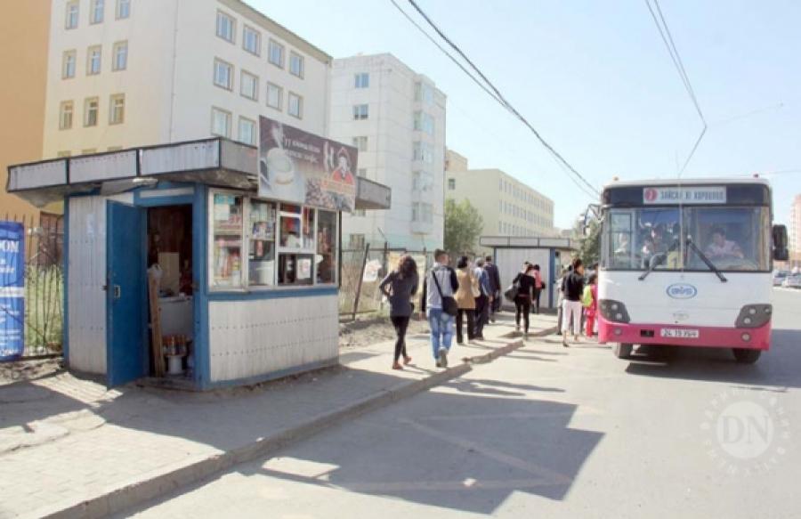 Автобусны буудлуудыг шилжүүлнэ