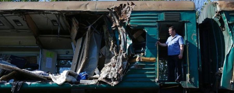 ОХУ-д галт тэрэг осолдлоо