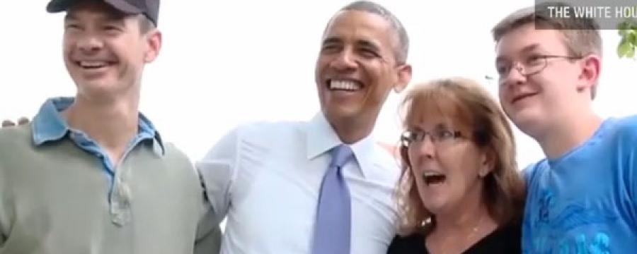Обамагийн зугаалга