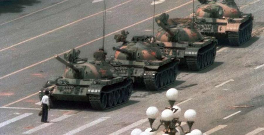 25 жилийн өмнөх Тяньаньмэний талбай