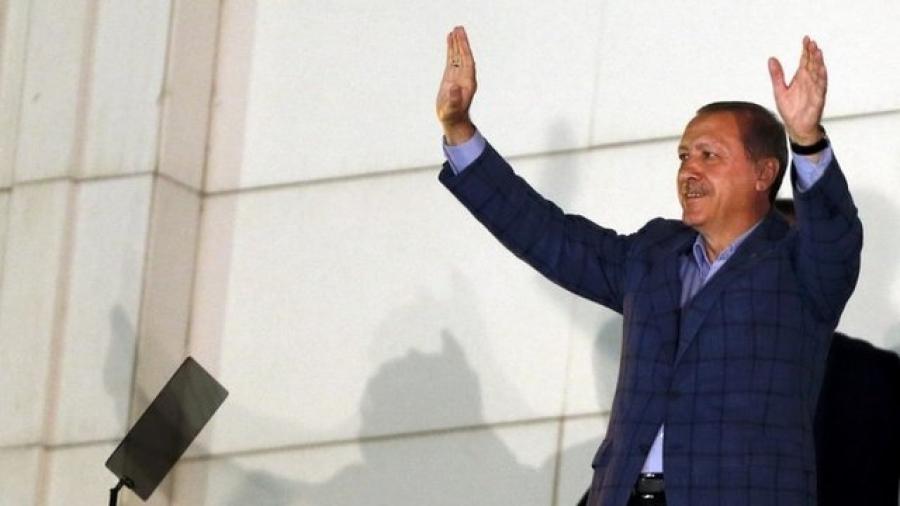 Эрдоган ялалт байгууллаа