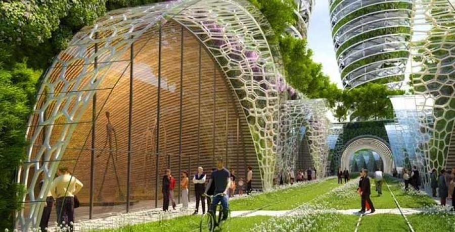 Ирээдүйн ногоон хот