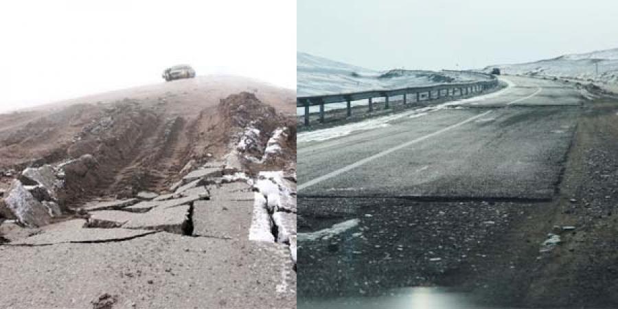"""Улаанбаатар, Дарханы чиглэлийн автозамын засварыг """"гурилджээ"""""""