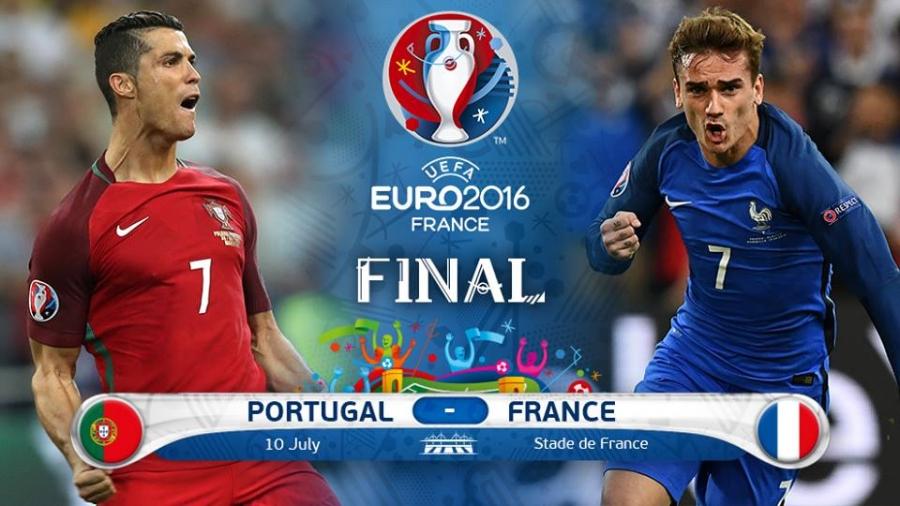 Евро 2016: Франц Португал аваргын төлөө