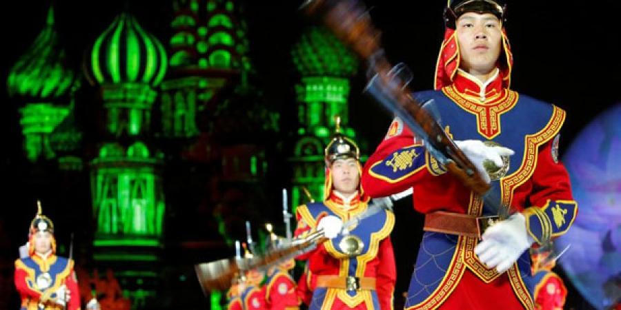 ФОТО: Москвад ОУ-ын цэргийн хөгжмийн наадам болж байна