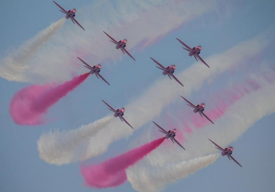 ФОТО: БНХАУ-д агаарын уран жолоодлогын шоу үзүүлбэр болж байна