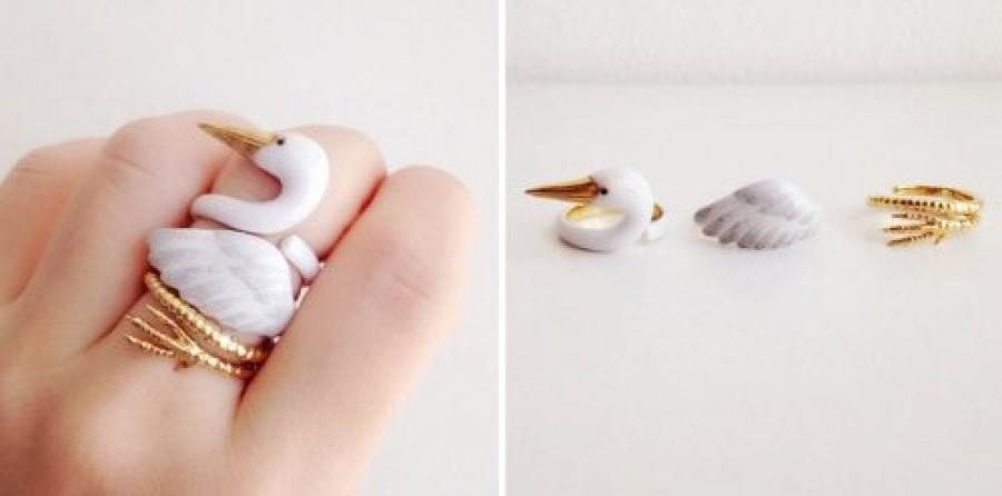 ФОТО: Амьтны хэлбэртэй өвөрмөц бөгжнүүд