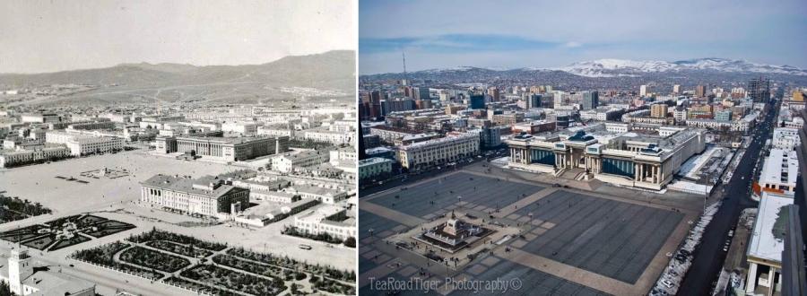 Улсын нийслэл Улаанбаатар хотын өөрчлөлт