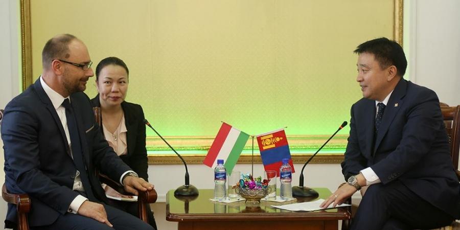 Унгарын Гадаад хэргийн сайдын зөвлөхтэй уулзлаа