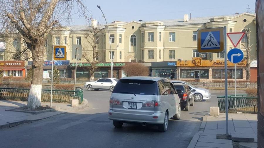 V сургууль орчмын авто замд 43 ширхэг тэмдэг, тэмдэглэгээг суурилуулав