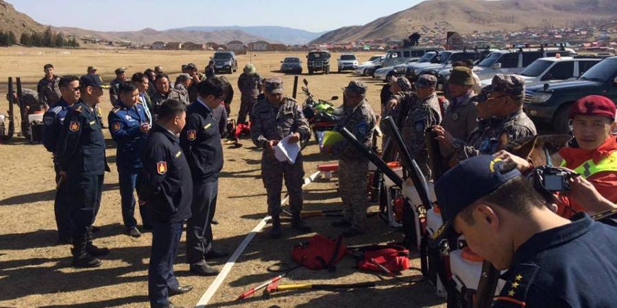 Байгаль хамгаалагчдын түймрийн бэлэн байдлыг шалгав