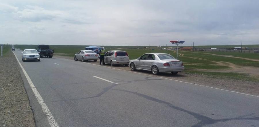 Орон нутгийн замд 24 цагаар хяналт шалгалт хийж байна