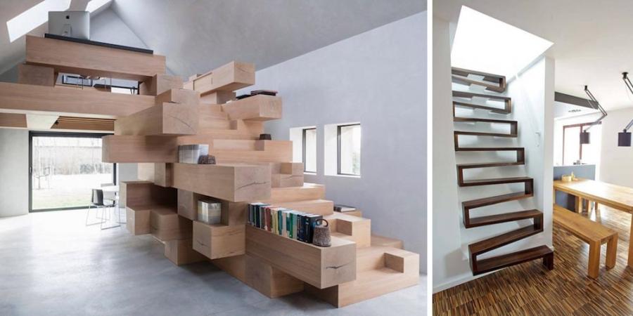 ФОТО: Өвөрмөц загвар шийдэл бүхий шатнууд