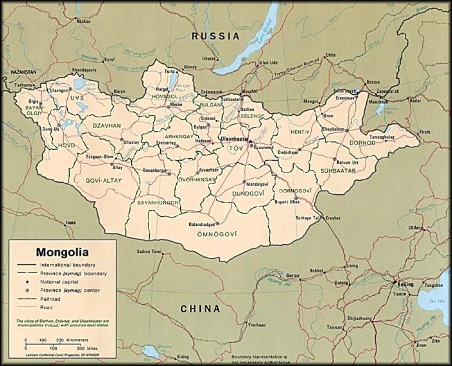 Монголын газрын зургийн асуудлаар эрдэмтэд чуулна