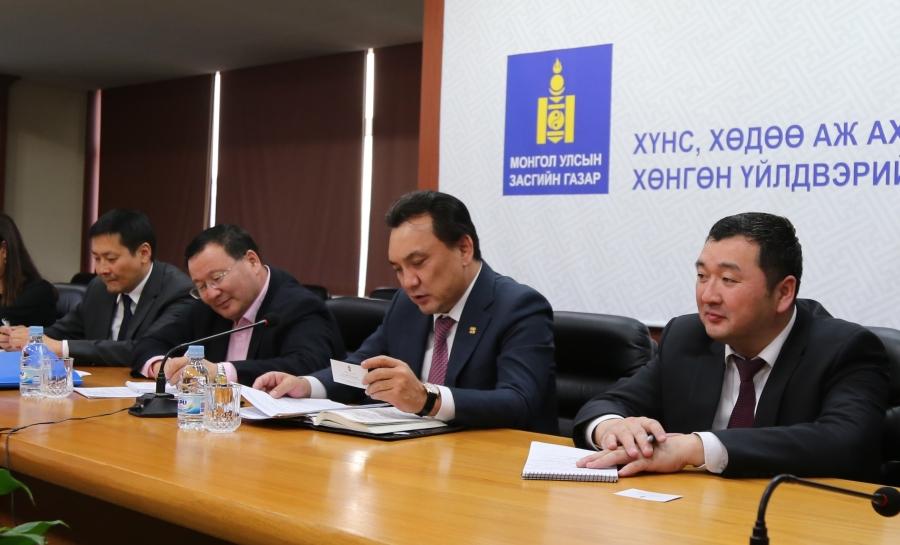 ХХААХҮ-ийн сайд Б.Батзориг, Унгар Улсаас Монгол улсад суугаа Элчин сайдтай уулзлаа