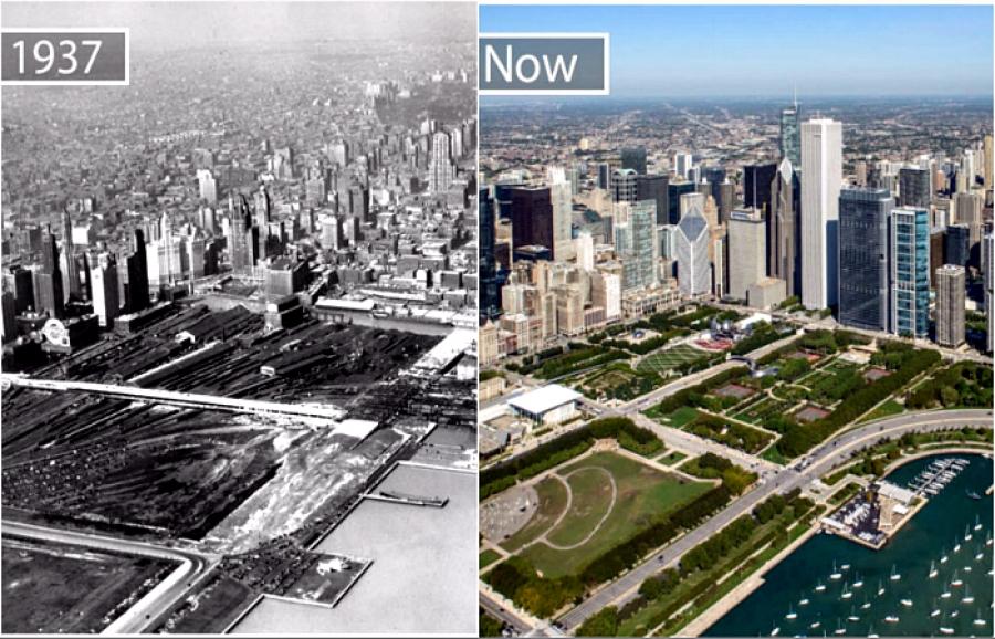 Дэлхийн хотууд, өмнө ба одоо