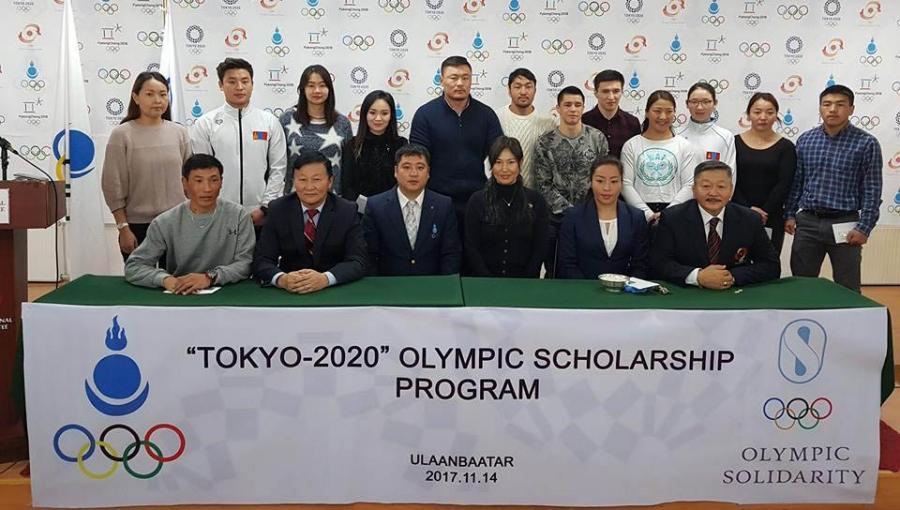 Тамирчид, дасгалжуулагчдад олимпийн тэтгэлэг гардуулав