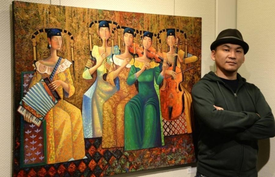 Зураач С.Заяасайхан Монгол Улсын соёлын элч боллоо