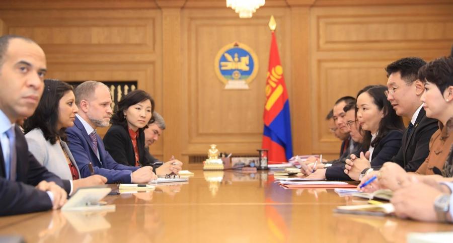 Монгол Улсад олгох 350 сая ам.долларын санхүүжилтийг баталгаажуулна
