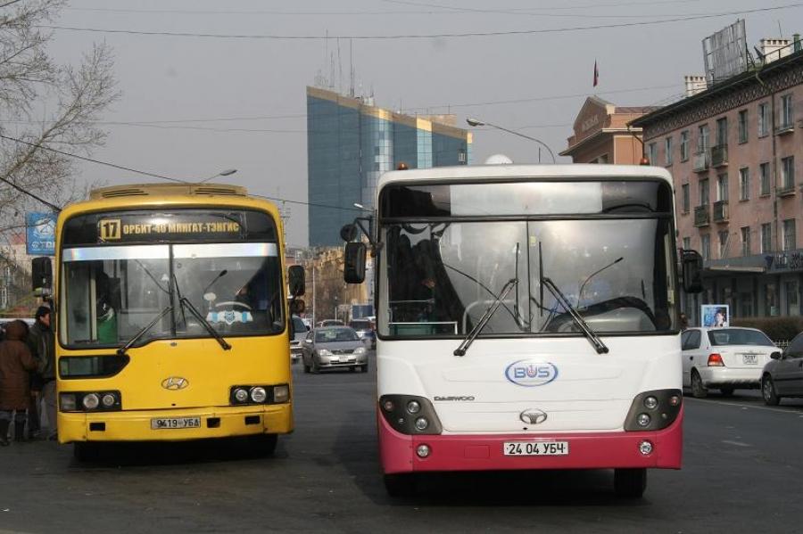 Шинэ жилийн цэнгүүний үеэр 18 чиглэлд автобус үйлчилнэ