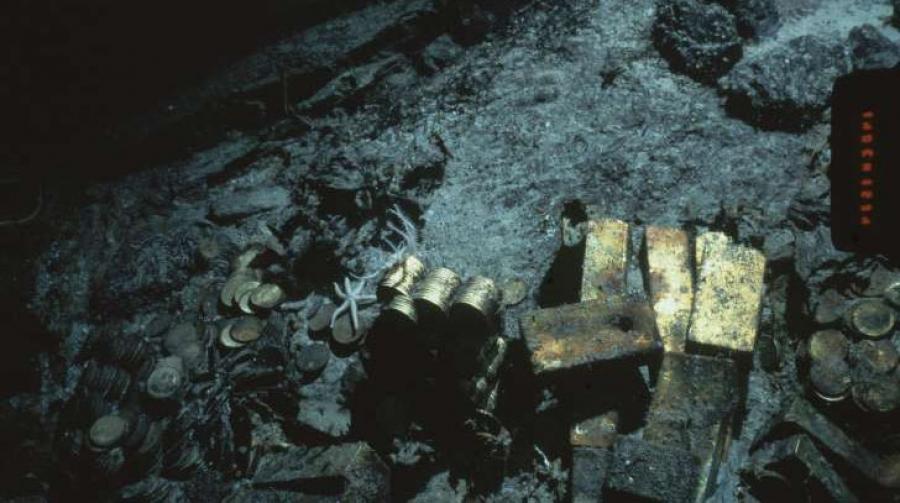 1857 онд сүйрсэн хөлөг онгоцны алт эрдэнэсийг олон нийтэд дэлгэн үзүүлнэ