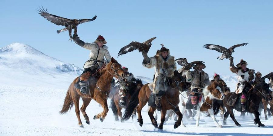 Алтайн сүрлэг нурууны бүргэдчид нийслэлд айлчиллаа