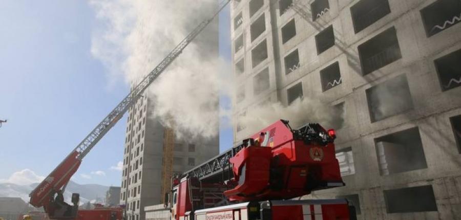 Өндөр барилгад гарсан гал түймрийг унтраах тактикийн сургууль зохион байгуулав