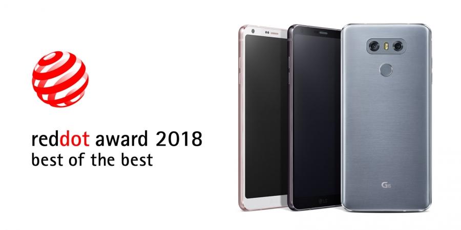 LG нь дэлхийн тэргүүлэх технологийн загварын шагнал гардуулах Red Dot Awards 2018 ёслолын ажиллагаанаас хамгийн шилдэг дизайнаар тодорлоо
