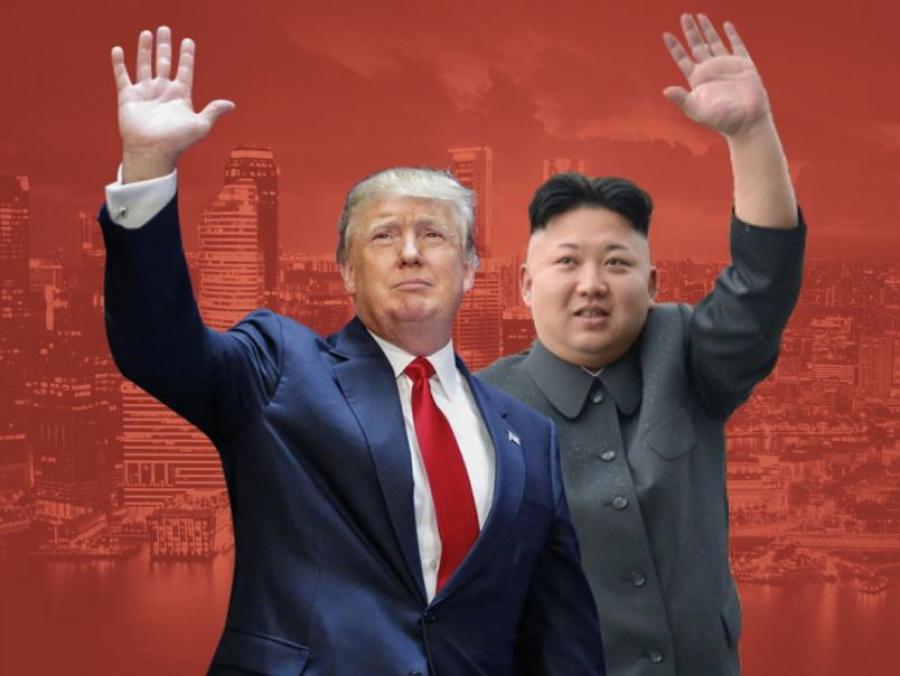 Трамп-Кимийн уулзалт Сингапурт болно