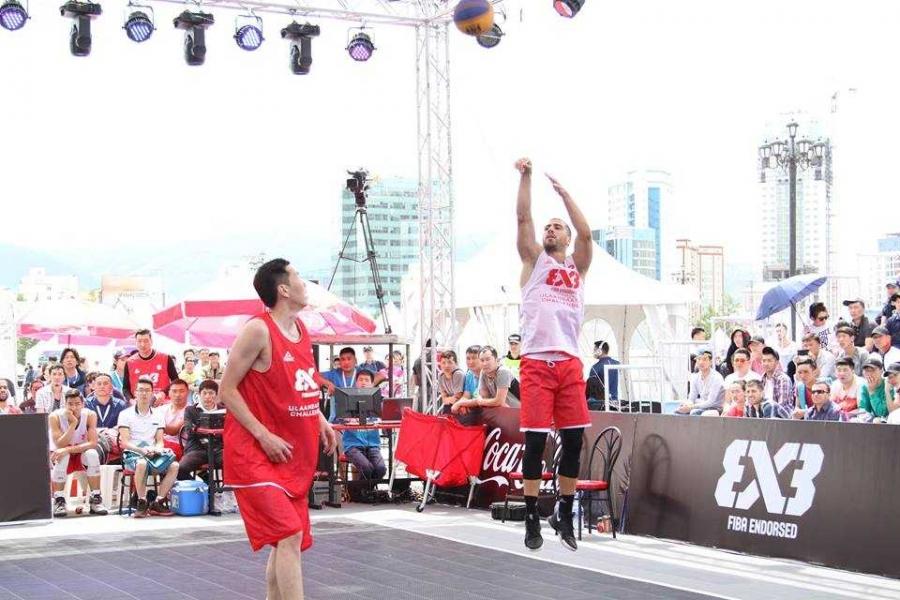 """FIBA  3х3 """"Улаанбаатар"""" дэлхийн гранпри тэмцээн болно"""