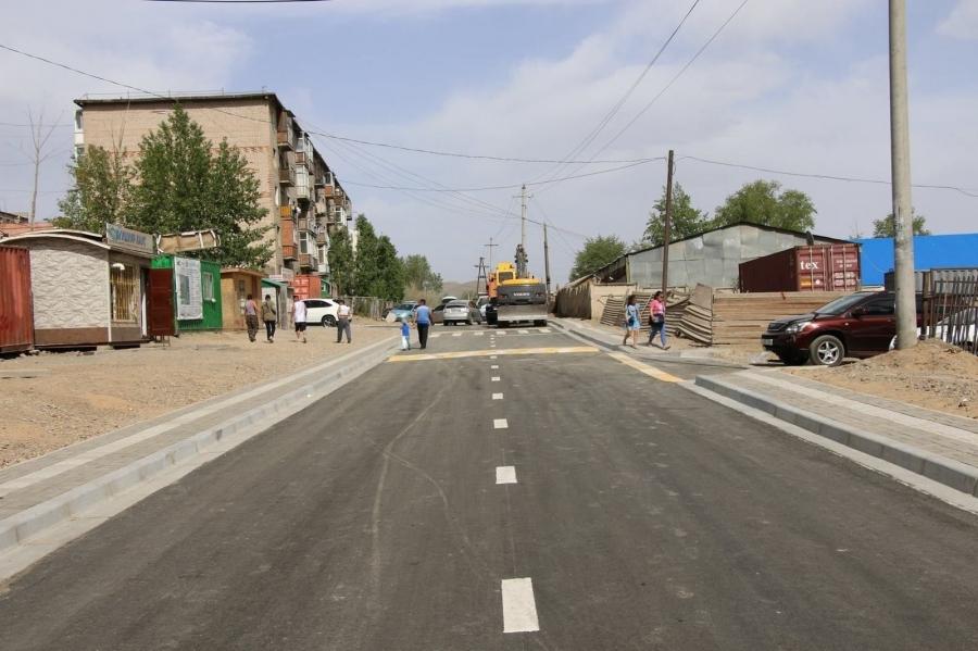 """Цайз захын хойд гудамжаас """"Газарчин"""" дээд сургууль хүртэлх зам ашиглалтад орлоо"""