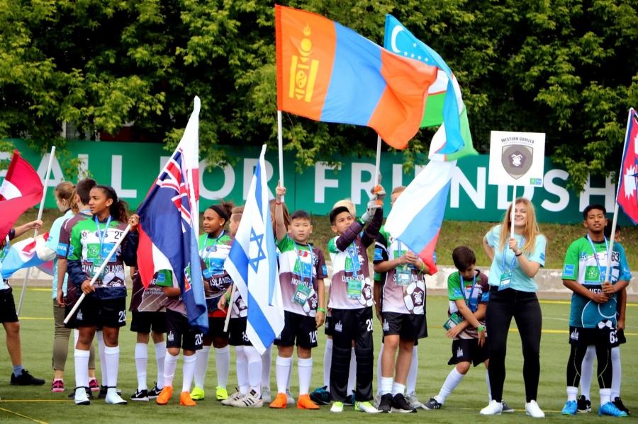 """Дэлхийн 211 улс """"Хөлбөмбөг ба нөхөрлөлийн төлөө"""" нэгдлээ"""