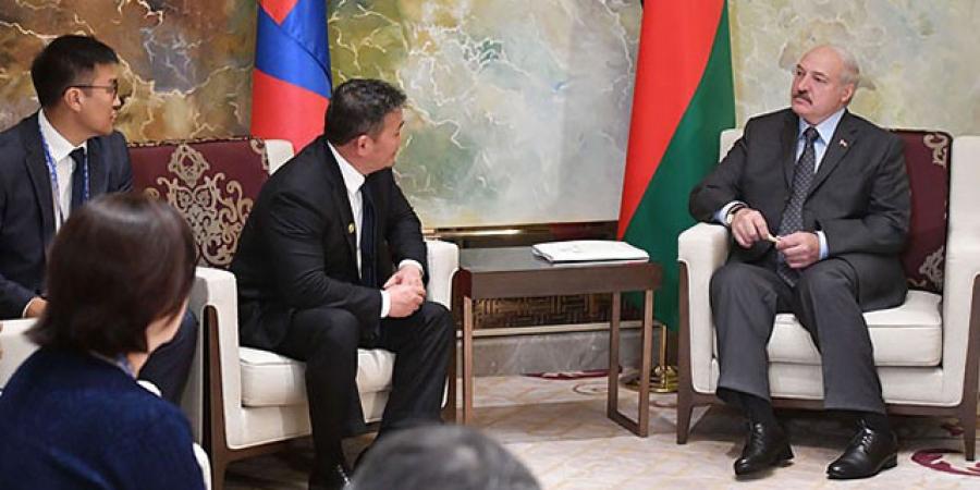 А.Г.Лукашенко: Монгол Улс ШХАБ-д элслээ гэхэд алдах юм байхгүй