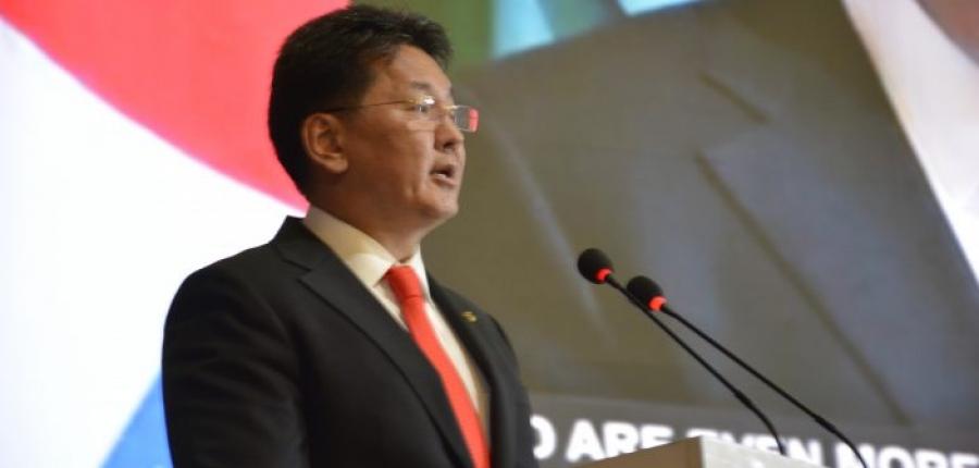 Азийн сайд нарын бага хуралд Монгол Улсын Ерөнхий сайд оролцож үг хэллээ
