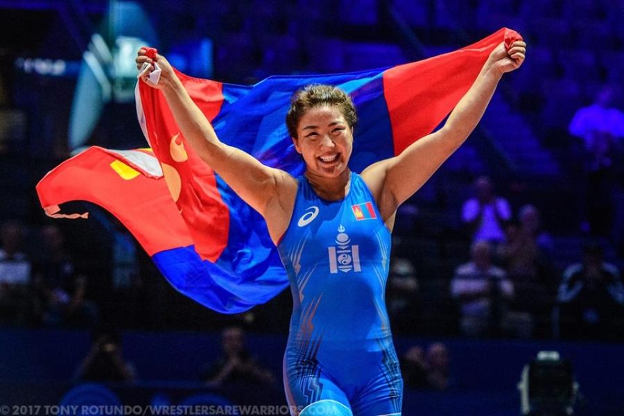 П.Орхон Азийн наадмаас алтан медаль хүртлээ