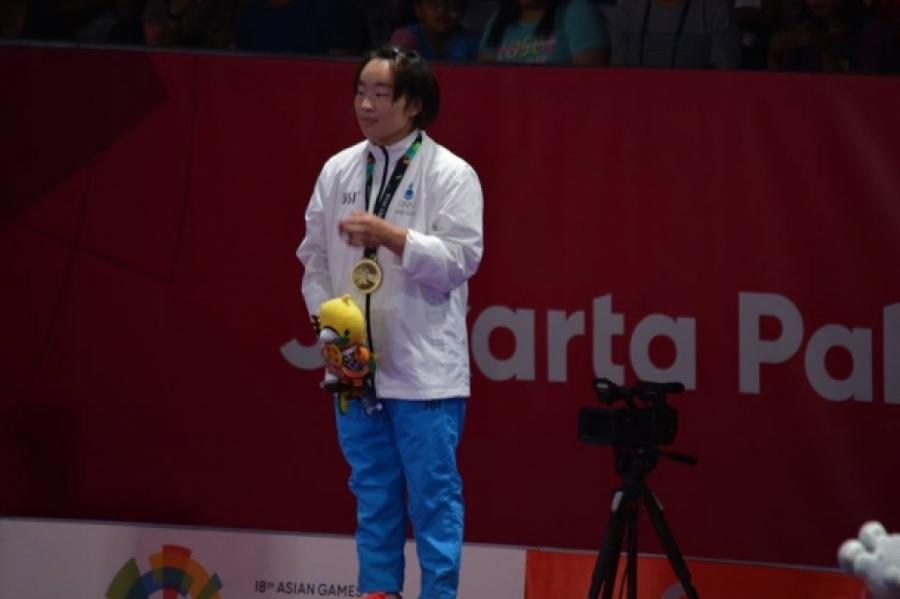 Ц.Удвал жюү жицүчдээс Азийн наадмын анхны медалийг авчирлаа