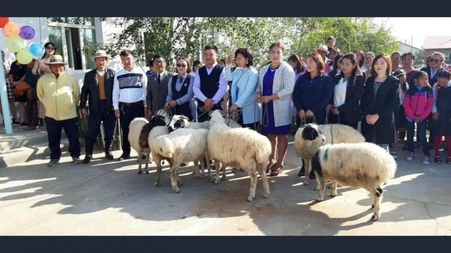 ЭЕШ-аар амжилт гаргасан сурагч, багш нарыг хониор мялаажээ