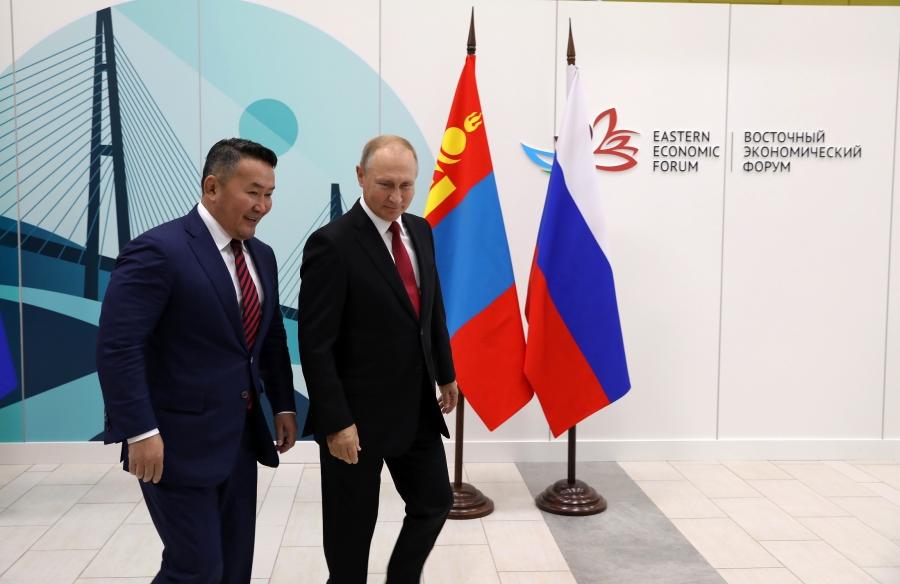 В.Путин ОХУ, БНХАУ-ыг холбосон байгалийн хийн хоолойг Монголоор дамжуулах саналыг дэмжиж байгаа гэв