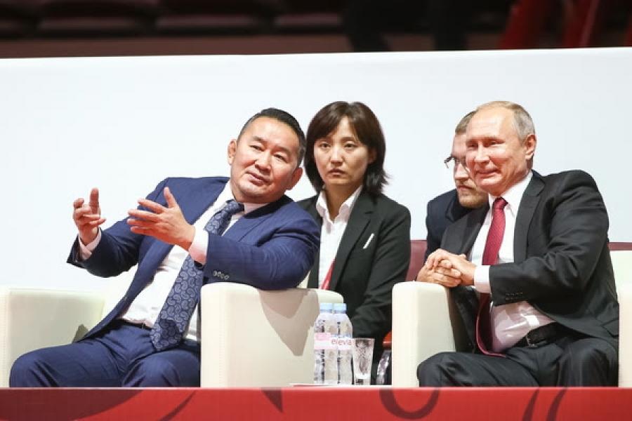 ФОТО: Х.Баттулга, В.Путин, Ш.Абэ нар жүдогийн тэмцээн үзэв
