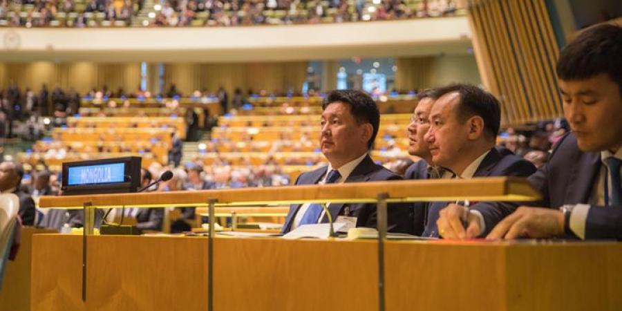 Ерөнхий сайд НҮБ-ын чуулганд оролцож, үг хэлнэ
