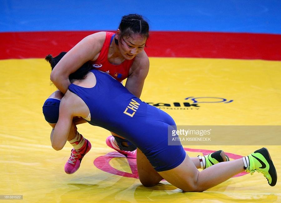 ДАШТ: О.Насанбурмаа алтан медалийн төлөө барилдана
