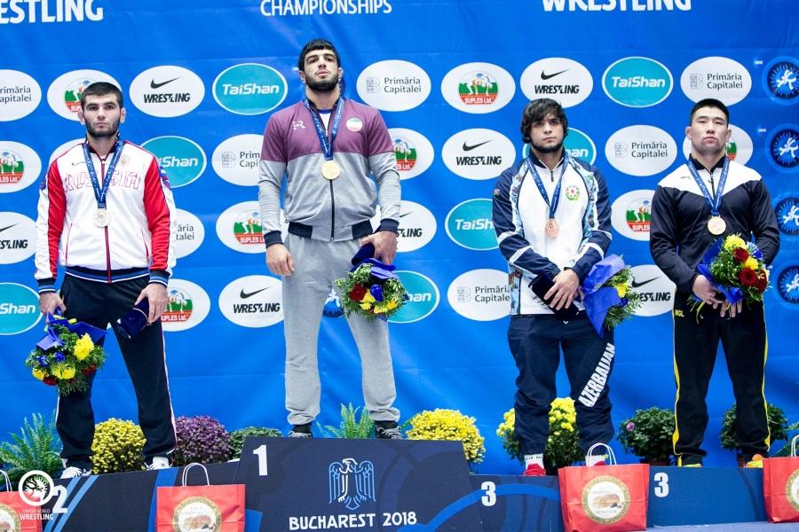 Г.Ганхуяг U23 ДАШТ-ий анхны медальтан болов