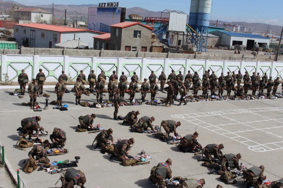 Улаанбаатар цэргийн хүрээний анги, байгууллагад ажиллана