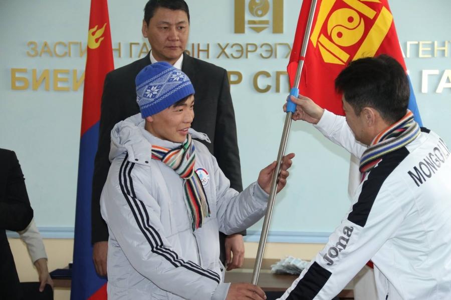 """""""Сахалин-2019"""" наадамд оролцох баг тамирчдад хүндэтгэл үзүүлэв"""