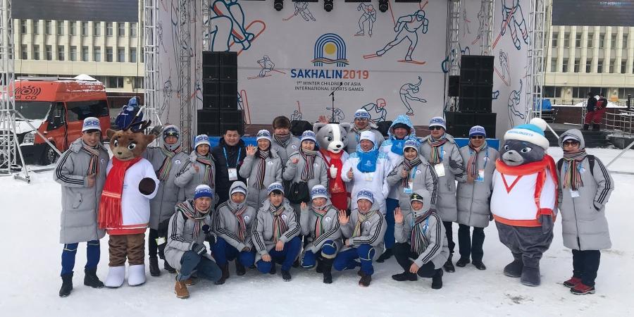 """""""САХАЛИН-2019"""": Монголын багийн туг өргөх ёслол боллоо"""