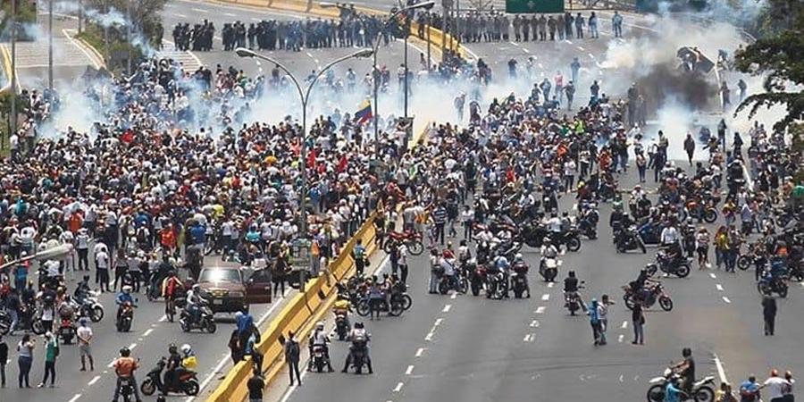 Венесуэлд эсэргүүцлийн жагсаал боллоо