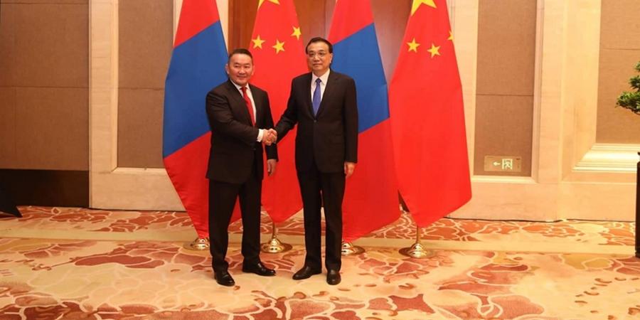 Монгол Улсын Ерөнхийлөгч Х.Баттулгад БНХАУ-ын Төрийн зөвлөлийн Ерөнхий сайд Ли Көчян бараалхав