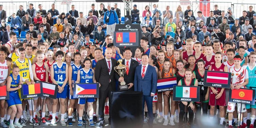 FIBA 3х3 сагсан бөмбөгийн тэмцээнд 43 орны тамирчид оролцож байна